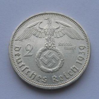 Германия 2 марки 1939 г А