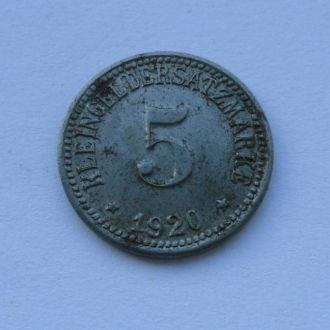 Германия нотгельд 5 пфеннигов 1920 г