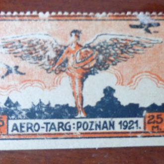 Польша,1921г,МихельFaI**авиа