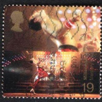 Великобритания. Фредди Меркьюри, вокалист Queen