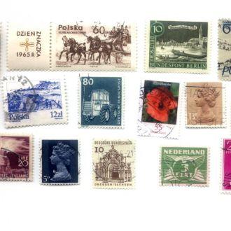 марки почтовые -- 029
