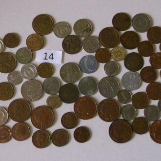 Монети світу 71 шт.