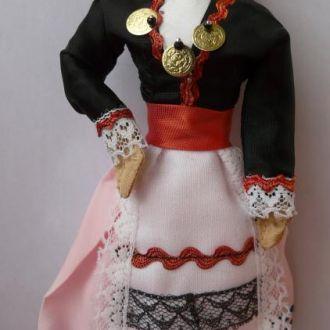 Лялька кукла в национальном 18,5см
