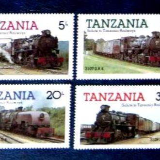 жд дорога поезда локомотивы паровозы танзания