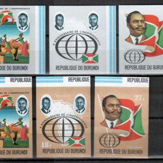 (19) Бурунди 1972 независимость флаг  MNH