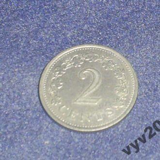 Мальта-1972 г.-2 цента