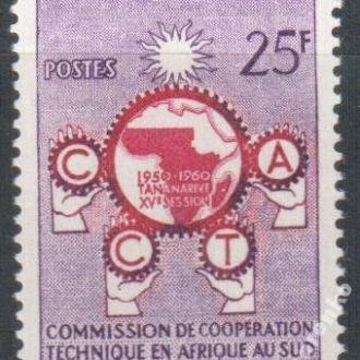 Мали 1960 Техника Сотрудничество карта MNH