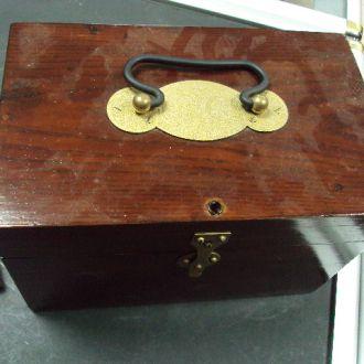 коробка для гирек царизм (№ 1614)