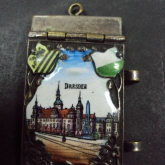 блокнот миниатюра в эмалях Дрезден №837