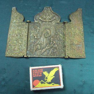 иконка складень бронза №1140