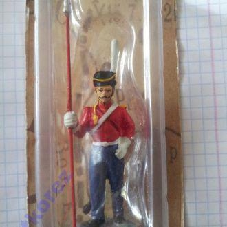 Оловянный солдатик Казак лейб-гвардии Казачьего полка 1812 года