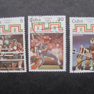Куба  1990   lux  Спорт