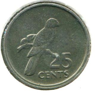 Сейшельские острова Сейшелы 25 центов 1977 г