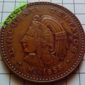 Мексика 50 сентаво 1956