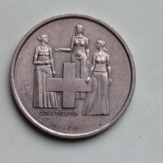 Швейцария , 5 франков 1974