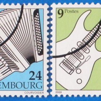 Люксембург. 2000 г. Музыкальные инструменты