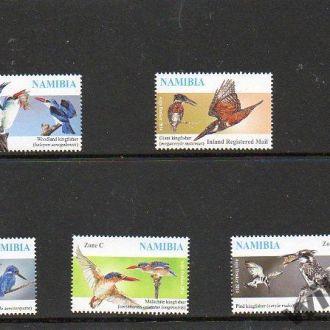 2014 НАМИБИЯ - птицы