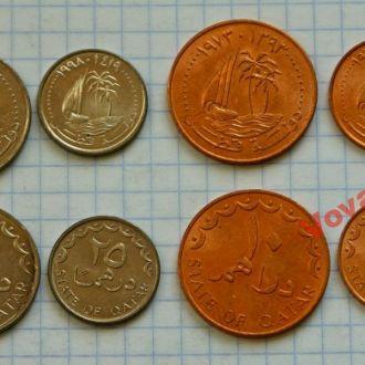 КАТАР - набор монет 4 сет