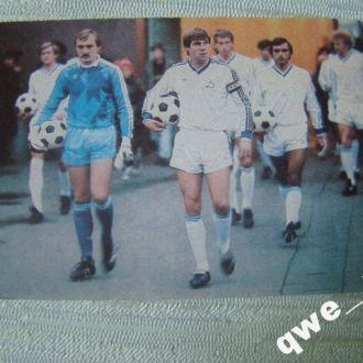 календарик 1987 футбол Динамо Киев