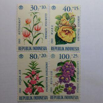 Индонезия флора цветы КЦ-4,8м