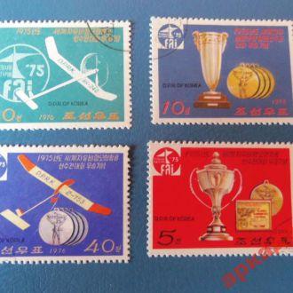 марки-КНДР спорт  блок 1975год