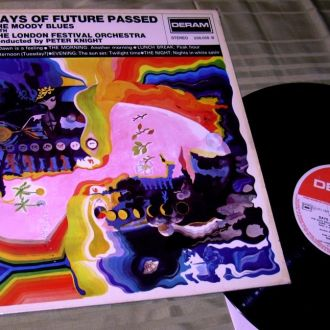 THE MOODY BLUES  DAYS OF...'67 DERAM  France  ~ NM