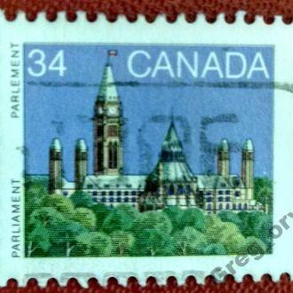 марки Канада архитектура с 1 гривны