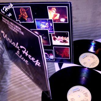Uriah Heep  Live  1973  2LP   bronze GEMA    VG ++