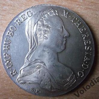 Таллер. Талер. Срібна  монета. Серебро.