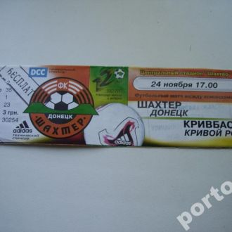 Шахтёр-Квивбас 2002 Чемпионат Украины