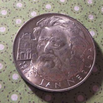 Чехословакия 1984 год монета 100 крон серебро !