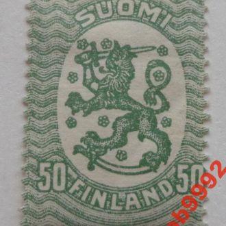 Финляндия 1918 г