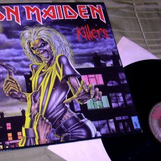 IRON MAIDEN  Killers  1981   EMI  UK   NM /  EX ++