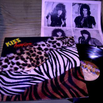 KISS  Animalize  1984  Casablanca GEMA  EX++/ EX++