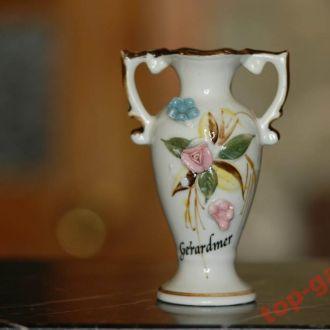 Европа- ваза Gerardmer Франция. Лотарингия