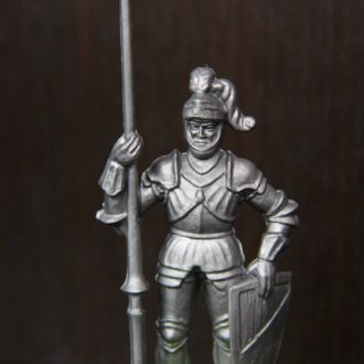 "рыцарь ""ELASTOLIN"" 70мм"