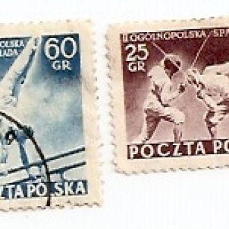 Polska Польща 1954 гаш (№771)