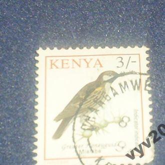 Кения-1993 г.-Птица