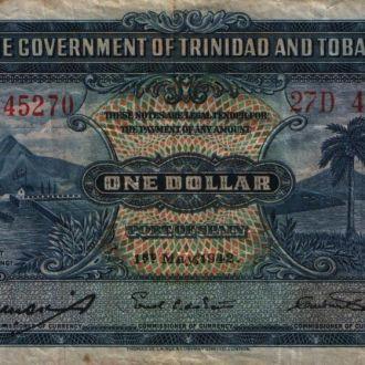 Тринидат и Тобаго 1 доллар 1942 г