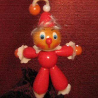 игрушки циркач  дерево резинки