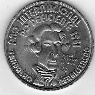 португалия   100 эскудо  1981г