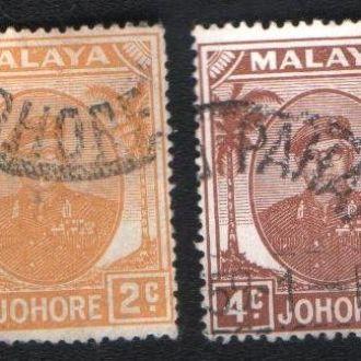 Малайя, Джохор (1949) Британская колония. Султан