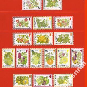 Брит. колонии BERMUDA Флора 1994-95 69Є MNH !!!