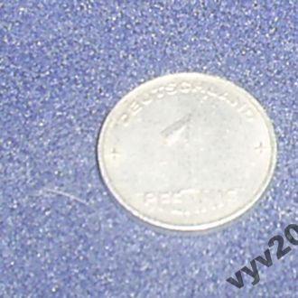 ГДР-1952 г.-1 пфенниг (А)