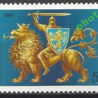Украина 1999 Галицко-Волынское княжество 1м.**