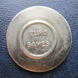 жетон Мини машина Евро игры