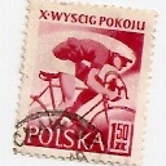 Polska Польща 1957 гаш (№783)