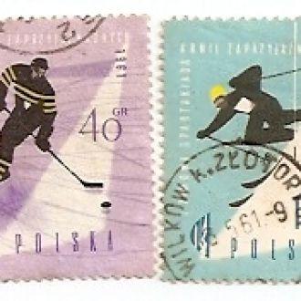 Polska Польща 1961гаш (№791)