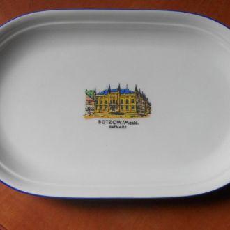 Винтажная фарфоровая тарелка ГДР