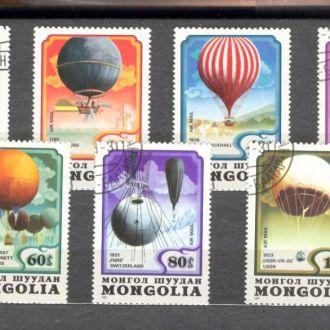 Монголия Авиация Воздухоплавание 1982 СТО